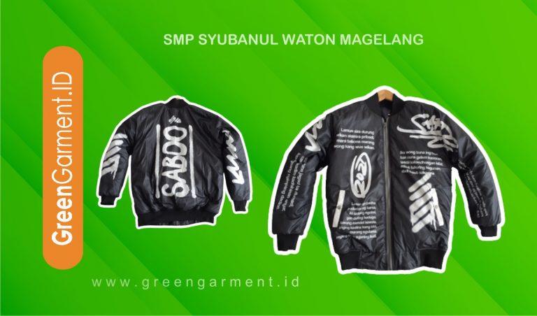 SMP Syubanul Waton Magelang Green Garment